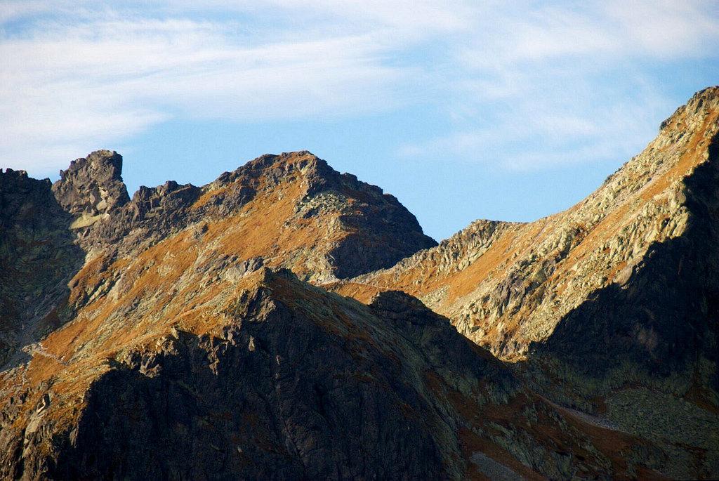 Zawrat ze szlaku na Szpiglasową Przełęcz